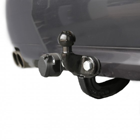 Witter upgradable Fixed Flange Towbar (two hole faceplate)