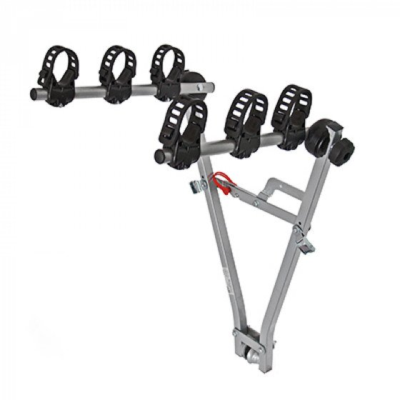 M-Way Typhoon Towball Mounted 3 Bike Cycle Carrier with Cradles