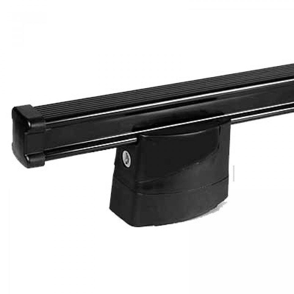 2 Bar Steel Commercial Roof Bar Kit 135cm wide